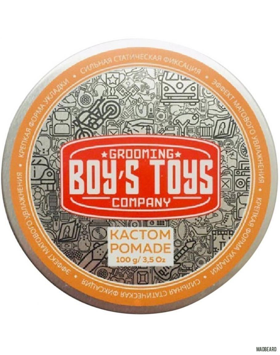 Boy's Toys Кастом Pomade - Помада для укладки волос 100 мл