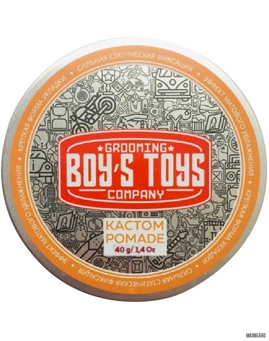 Boy's Toys Кастом Pomade - Помада для укладки волос 40 мл