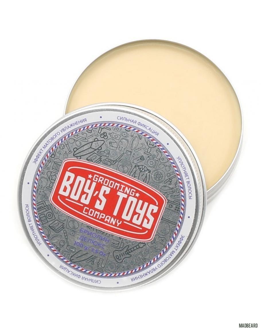 Boy's Toys Briolin Deluxe - Бриолин для укладки 100 гр