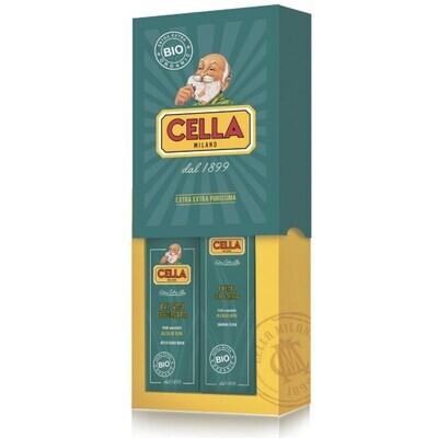Cella Duo Organic - Подарочный набор для бритья