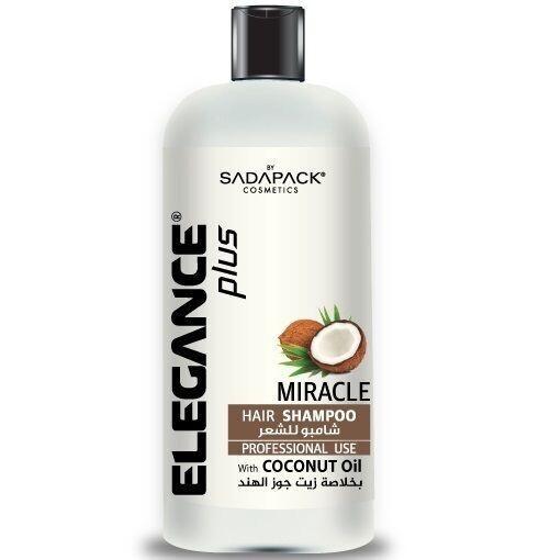 Elegance Miracle Hair Shampoo - Шампунь для волос с кокосовым маслом 500 мл