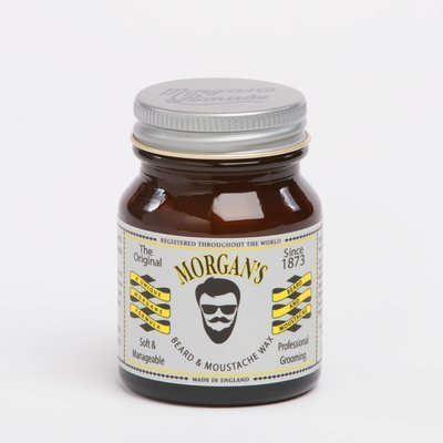 MORGAN'S Beard and moustache wax / Воск для бороды и усов 50 ml