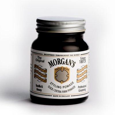 Morgan's Vanilla & Honey Pomade - Помада для укладки Экстра сильной фиксации без блеска 100гр