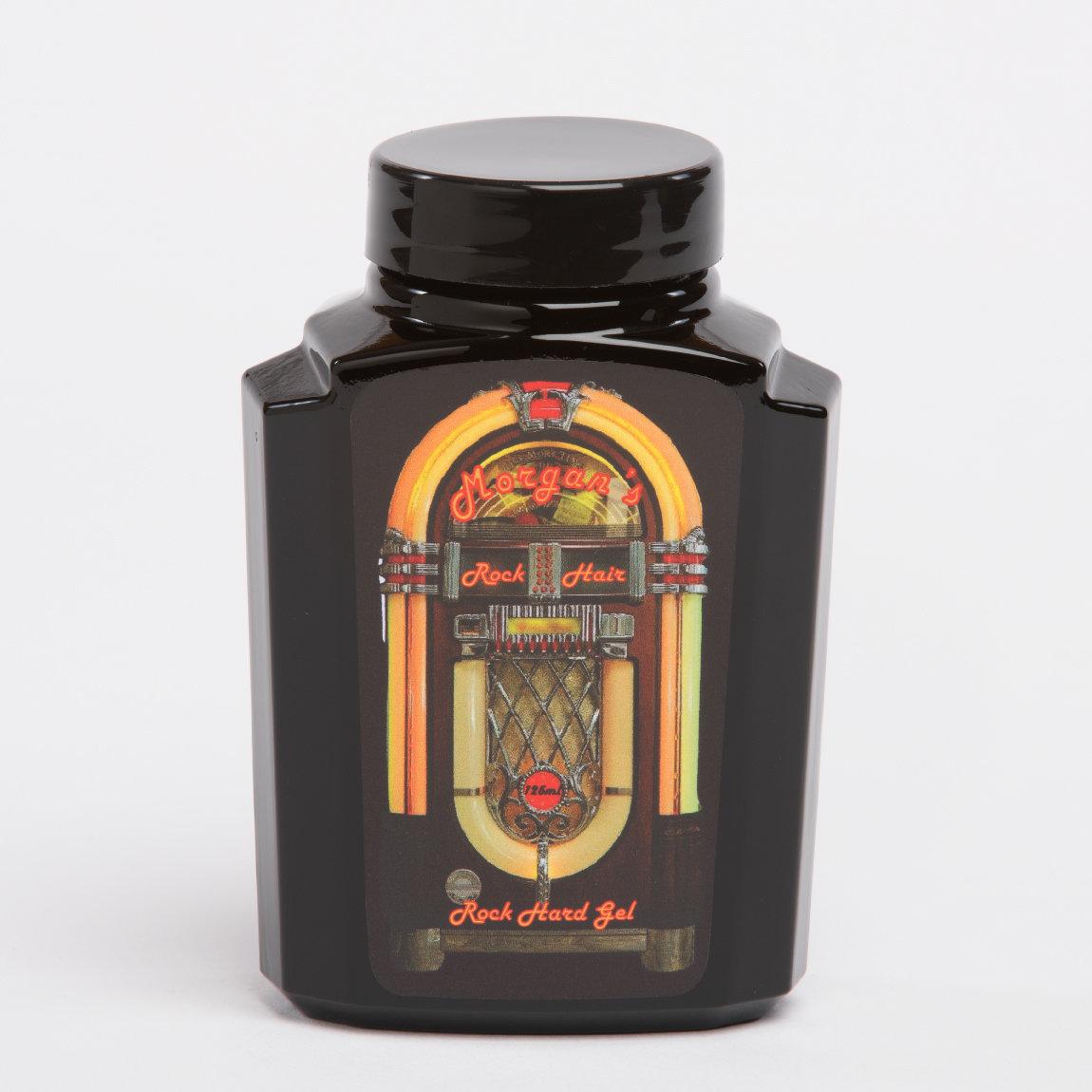 Morgans Rock Hard Gel - Гель для укладки волос 125 мл