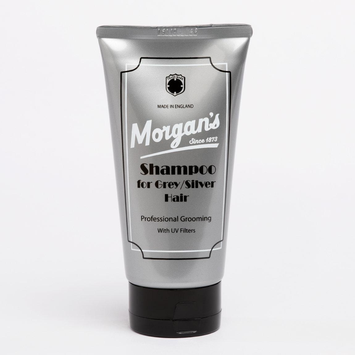 MORGAN'S Shampoo for gray, silver hair / Шампунь для осветленных и седых волос 150 мл