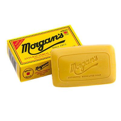MORGAN'S Anti-bacterial soap / Антибактериальное лечебное мыло 80 гр