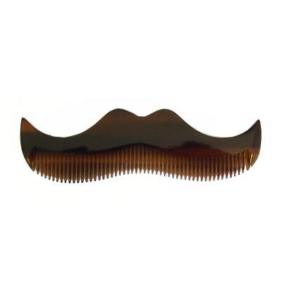 MORGAN'S Янтарный гребень в форме усов