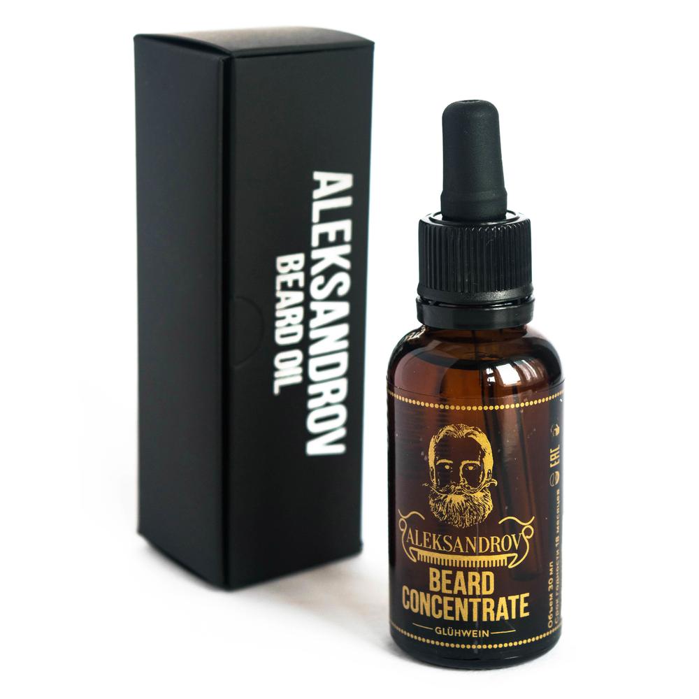 ALEKSANDROV Масло для стимуляции роста бороды Beard Concentrate 30ml