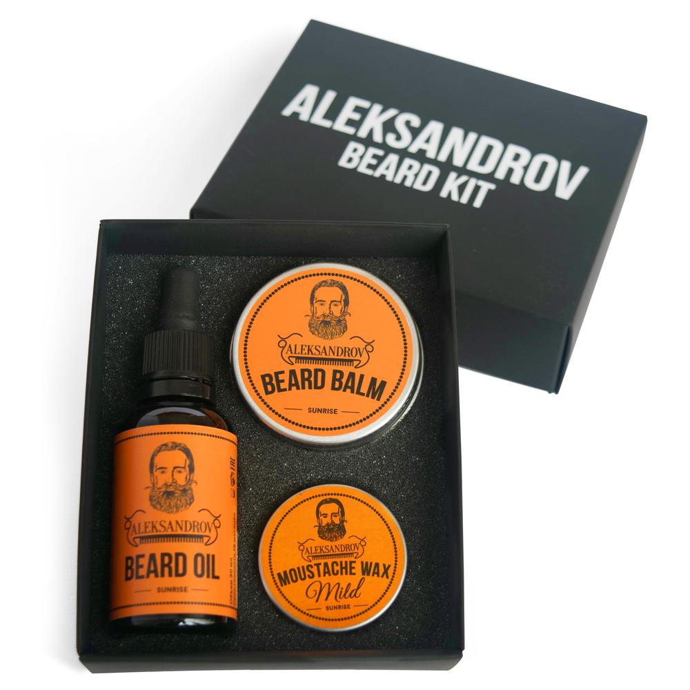 Aleksandrov Beard Kit №1 - Набор бородача