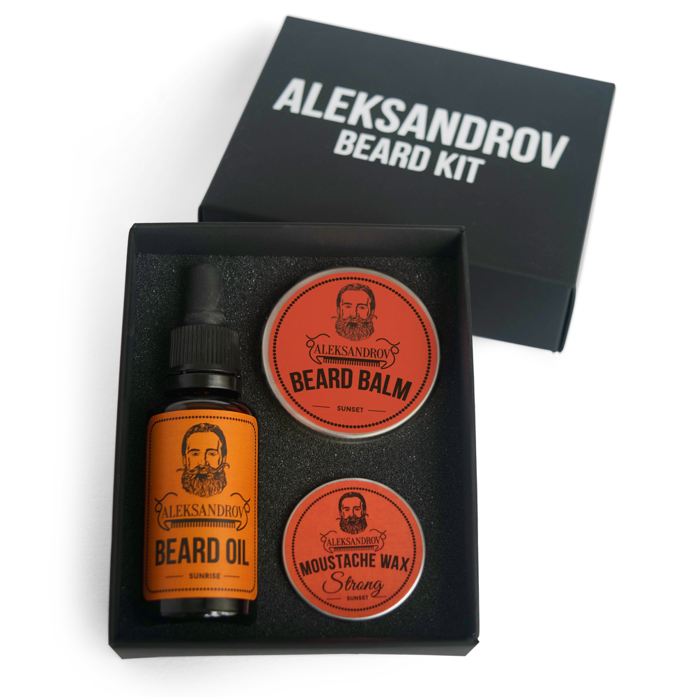 Aleksandrov Beard Kit №3 - Набор бородача