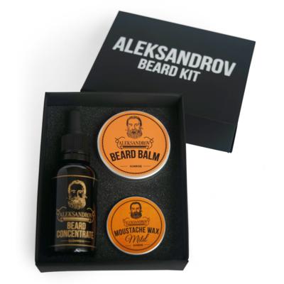 Aleksandrov Beard Kit №5 - Набор для роста бороды