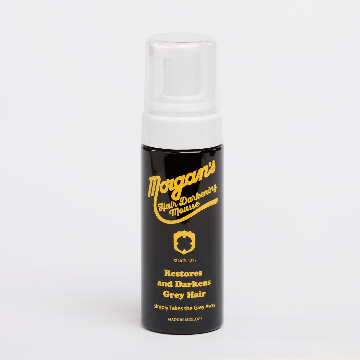 MORGAN'S Hair Darkening Mousse - Мусс для укладки волос маскирующий седину 150 мл
