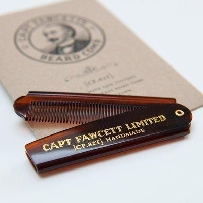 Captain Fawcett Pocket Beard Comb- Расческа для бороды