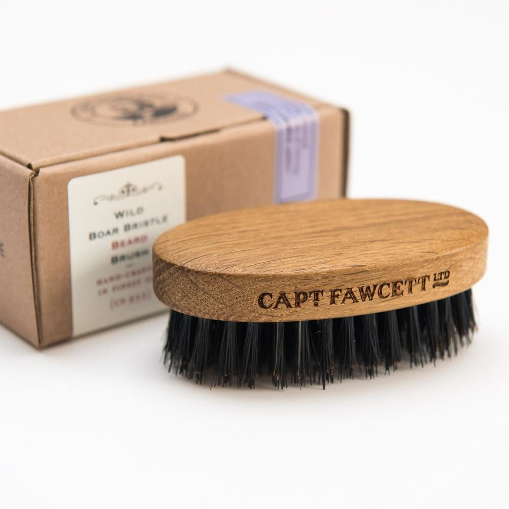 Captain Fawcett Wild Boar Bristle Beard Brush - Щетка для бороды (CF.933)
