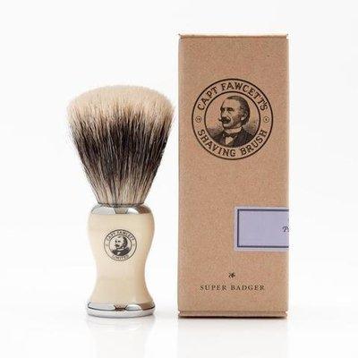Помазок для бритья Captain Fawcett 'Super' Badger Shaving Brush CF029 слоновая кость барсучий ворс