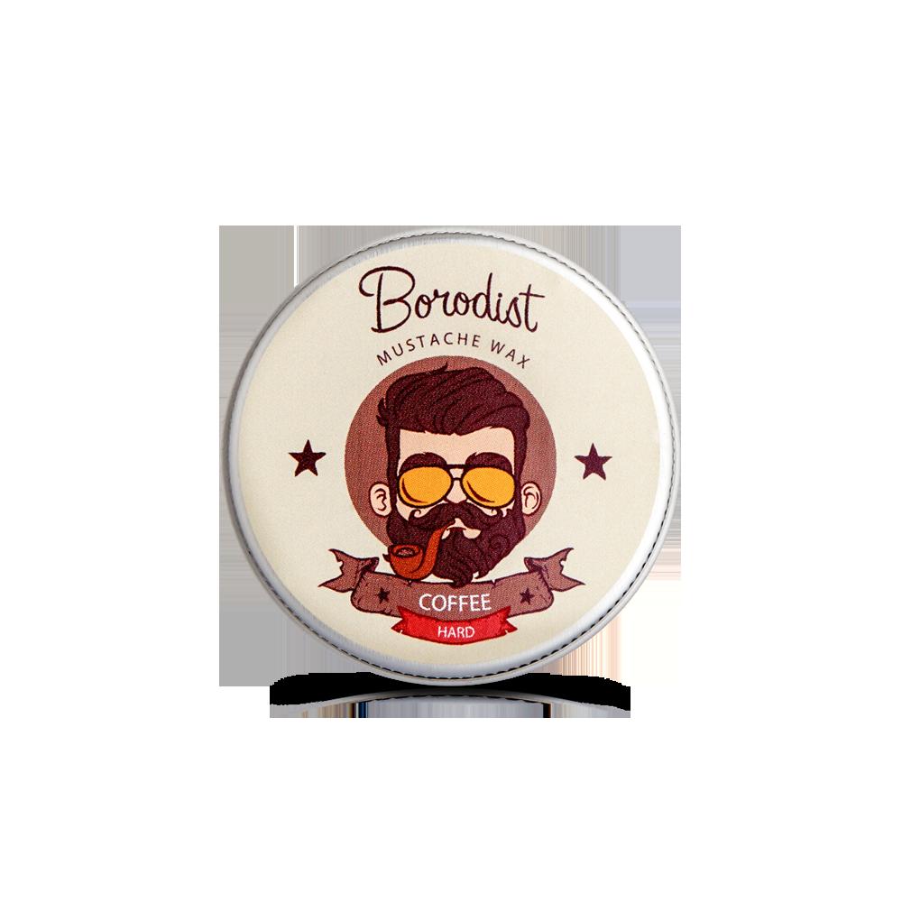 Borodist  - Воск для усов «Coffee» 13 гр.