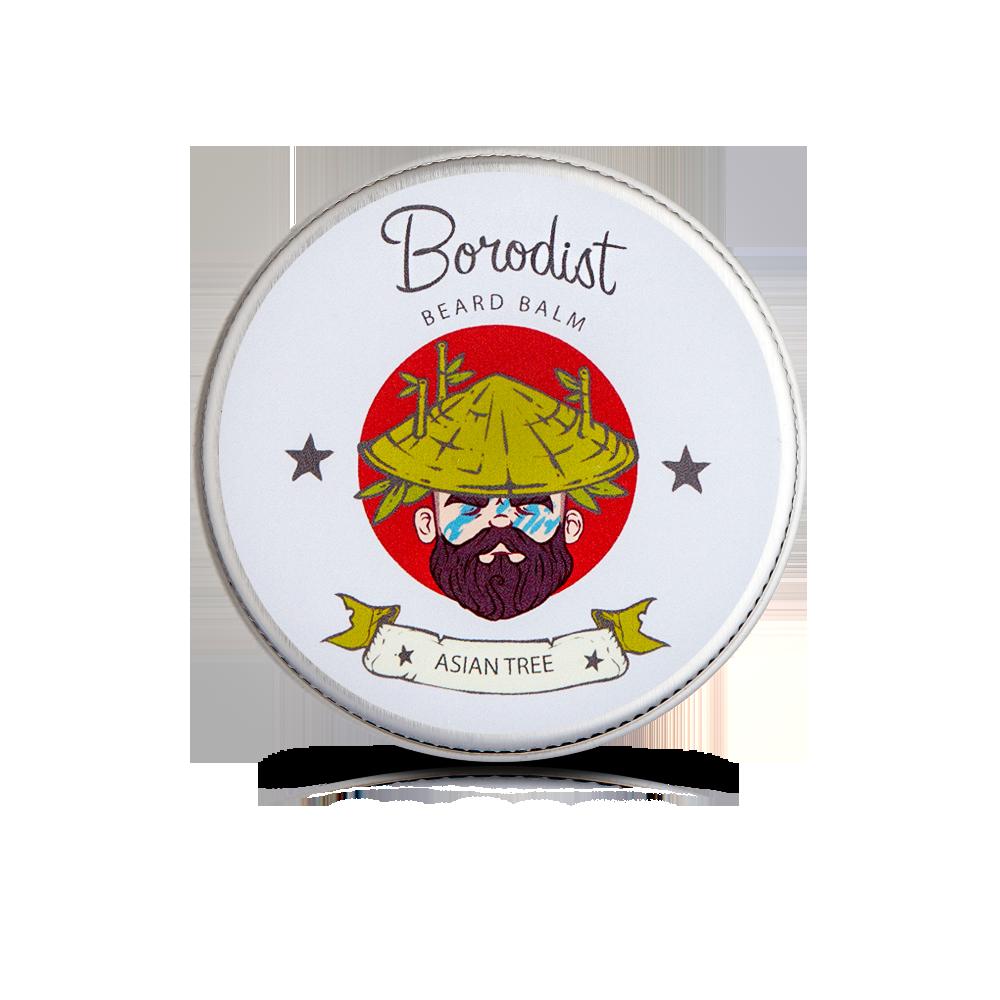 Borodist  - Бальзам для бороды «Asian Tree» 50 г.