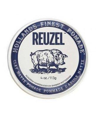 Reuzel Clay Matte Pomade - Матовая помада для укладки волос 113 гр