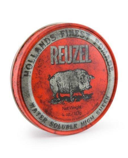 Reuzel High Sheen Pomade - Помада для укладки волос с эффектом мокрых волос 113 гр