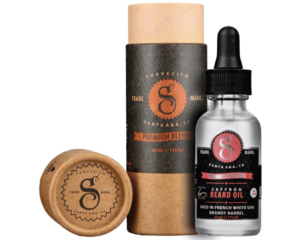 Suavecito Saffron Beard Oil - Масло для бороды с экстрактом шафрана 30 мл