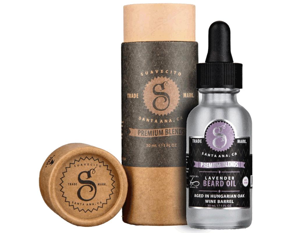 Suavecito Lavender Beard Oil - Масло для бороды с экстрактом лаванды 30 мл