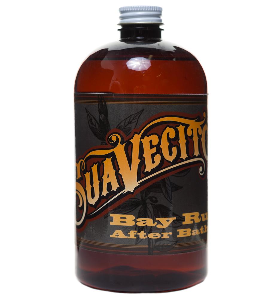 Suavecito Post Shave Lotion Bay Rum - Лосьон после бритья 470 мл