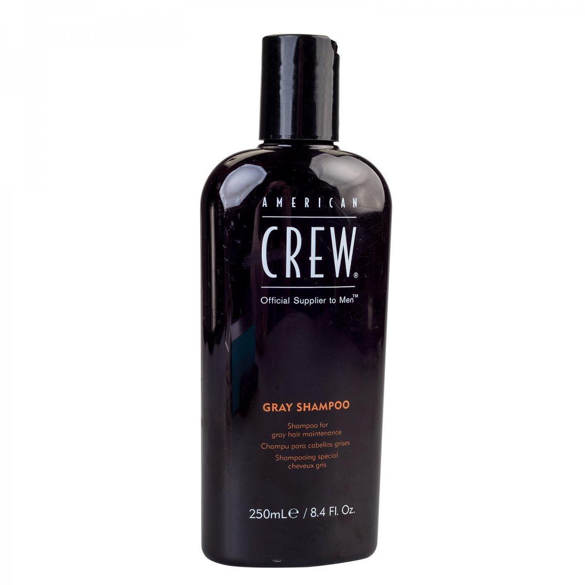 American Crew Classic Gray Shampoo  - Шампунь для седых волос, 250 мл