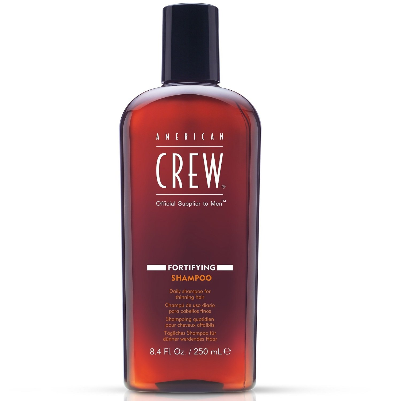 American Crew Fortifying Shampoo - Шампунь для ухода за тонкими волосами, 250 мл
