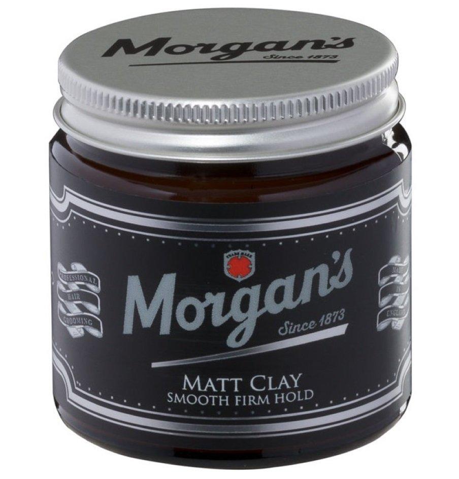 Morgan's Matt Clay - Матовая глина с кератином для укладки 120 мл