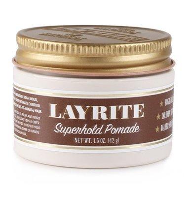 Layrite Super Hold Pomade - Помада для укладки волос 42 гр