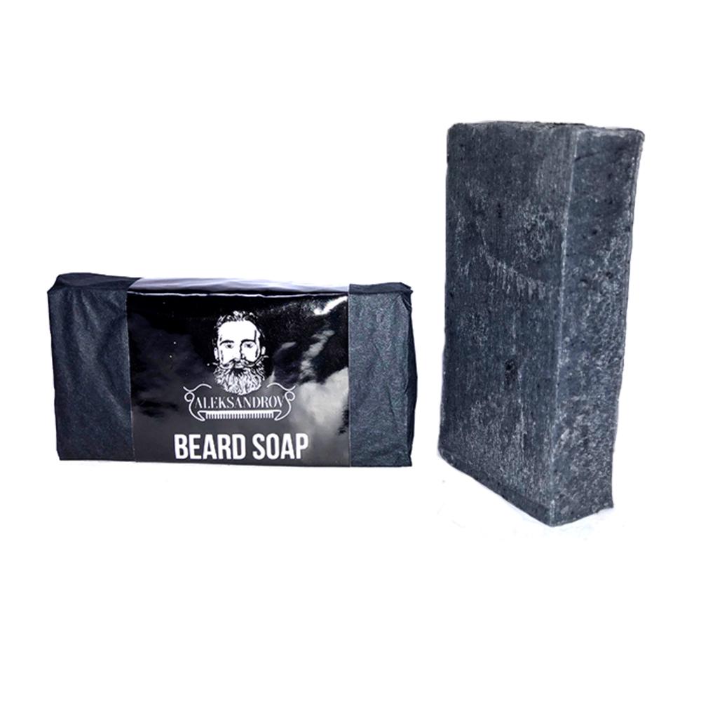 ALEKSANDROV Черное мыло для бороды 80г