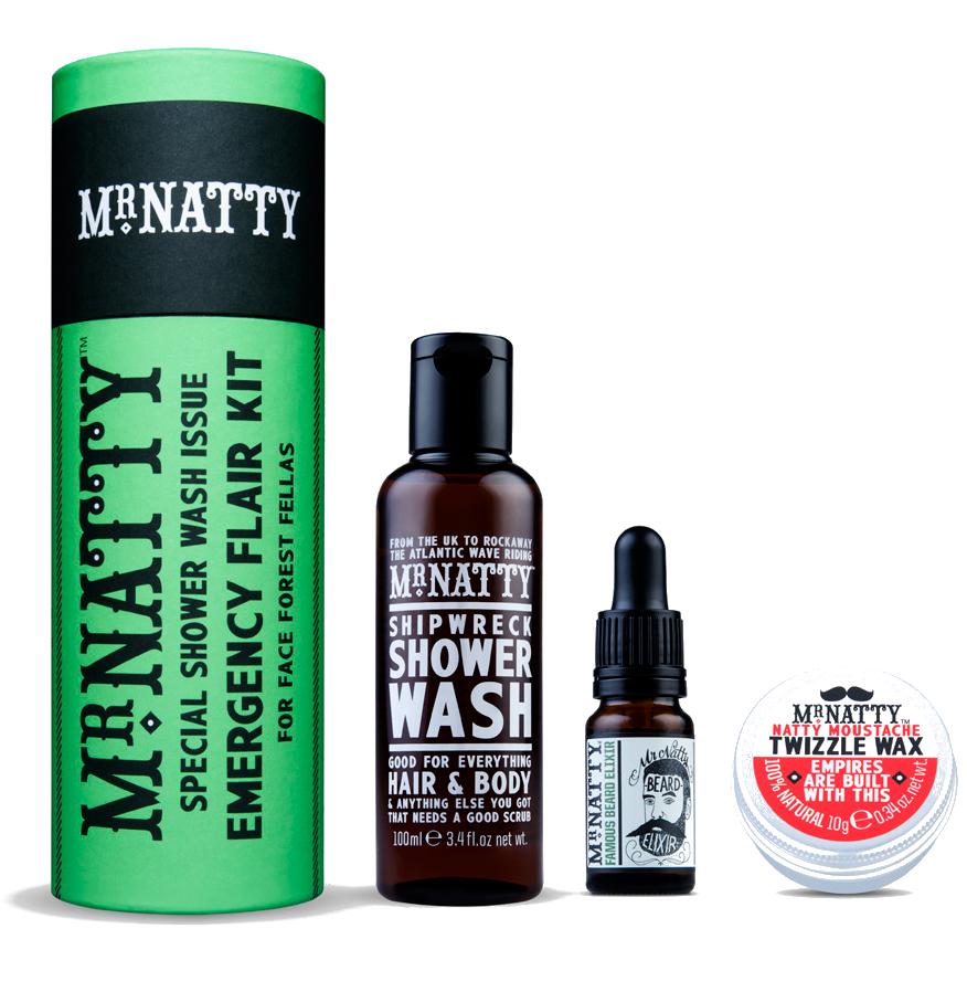 Mr.Natty Emergency Shower Flair Kit - Набор первой необходимости для душа