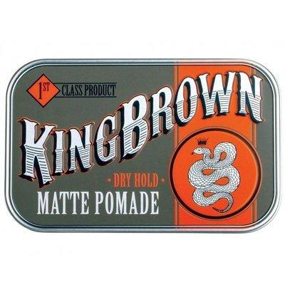 King Brown Matte Pomade - Матовая помада для укладки 75 гр
