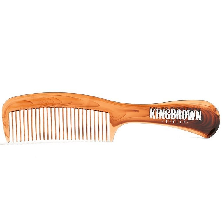 King Brown - Гребень с ручкой панцирь черепахи