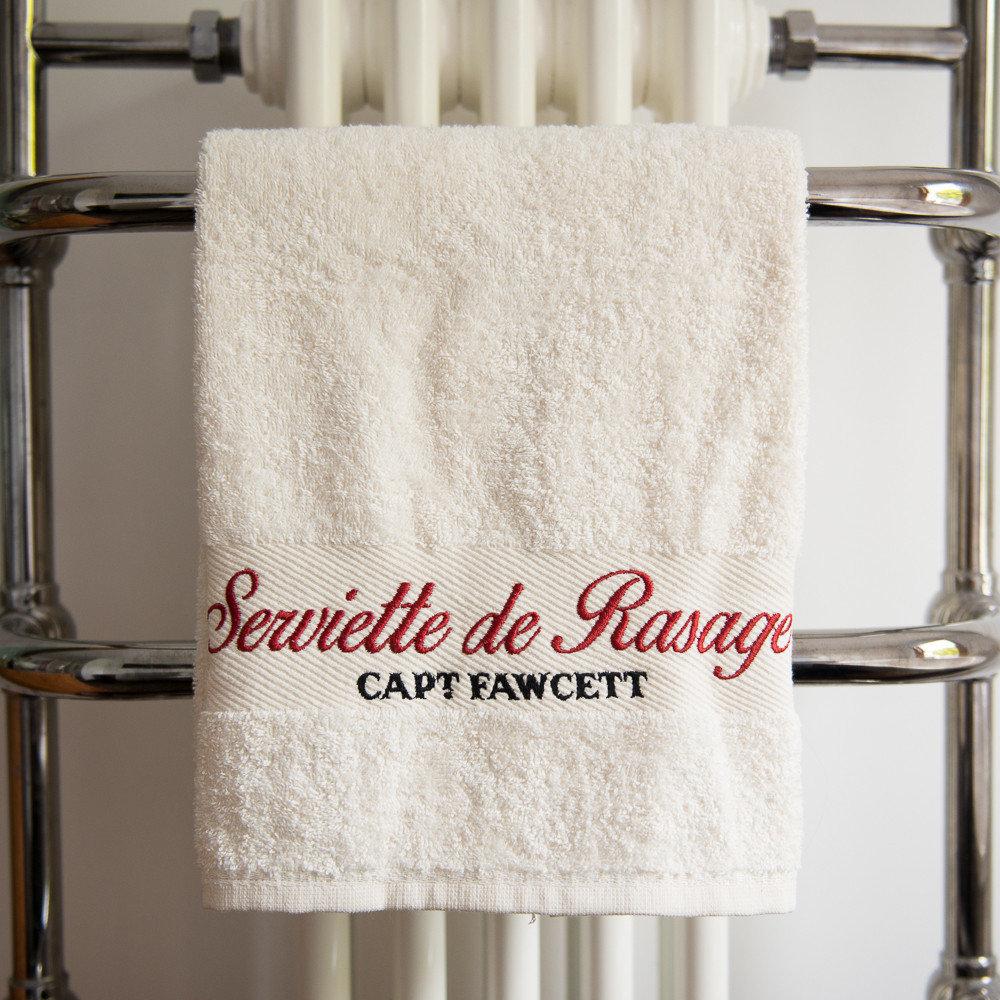 Captain Fawcett Luxurious Shave Towel - Роскошное полотенце для бритья