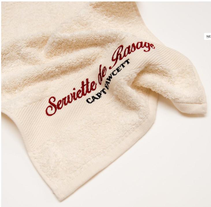 Captain Fawcett Hand Towel - Роскошное полотенце для рук