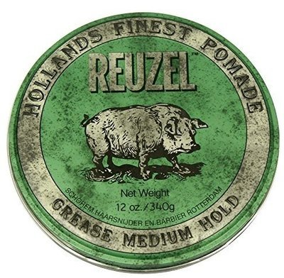 Reuzel Grease Medium Hold - Помада для укладки волос средней фиксации 340 гр