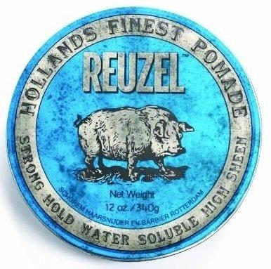 Reuzel Strong Hold High Sheen Pomade - Помада для укладки волос сильной фиксации с эффектом блеска 340 гр