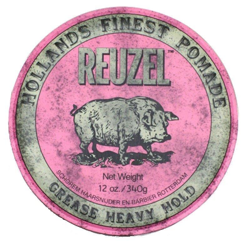 Reuzel Heavy Hold Grease - Помада для укладки волос сверхсильной фиксации 340 гр