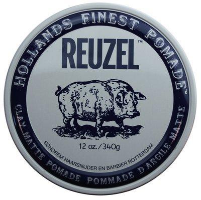 Reuzel Clay Matte Pomade - Матовая помада для укладки волос 340 гр
