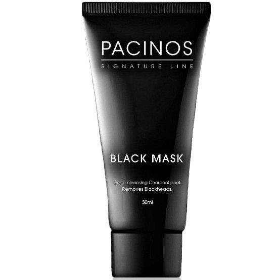 Pacinos Facial Mask Peel - Очищающая черная маска для лица 50 мл