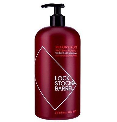 Lock Stock & Barrel Reconstruct Protein Shampoo - Укрепляющий Шампунь с протеином, 1000 мл