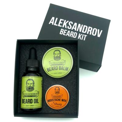 Aleksandrov Beard Kit №8 - Набор бородача