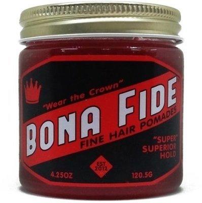 Bona Fide Super Superior Hold Pomade - Помада для волос на водной основе сильной фиксации 113 гр