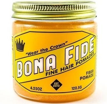 Bona Fide Fiber Pomade - Помада для волос на водной основе средней фиксации 113 гр
