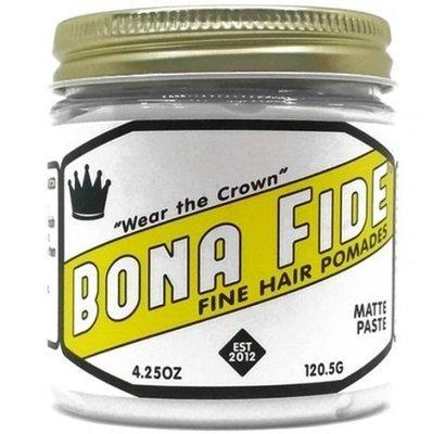 Bona Fide Matte Paste Pomade - Помада для волос на водной основе матовая 113 гр