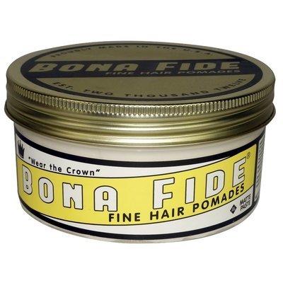 Bona Fide Matte Paste Pomade - Помада для волос на водной основе матовая 453 гр