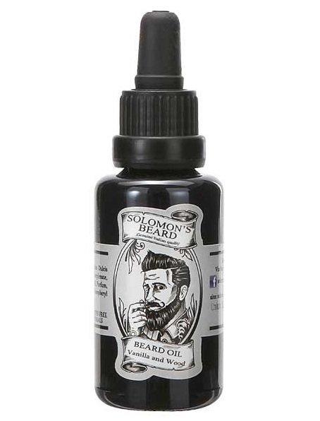 Solomon's Beard Vanilla and Wood - Масло для бороды Ваниль и дерево 30 мл