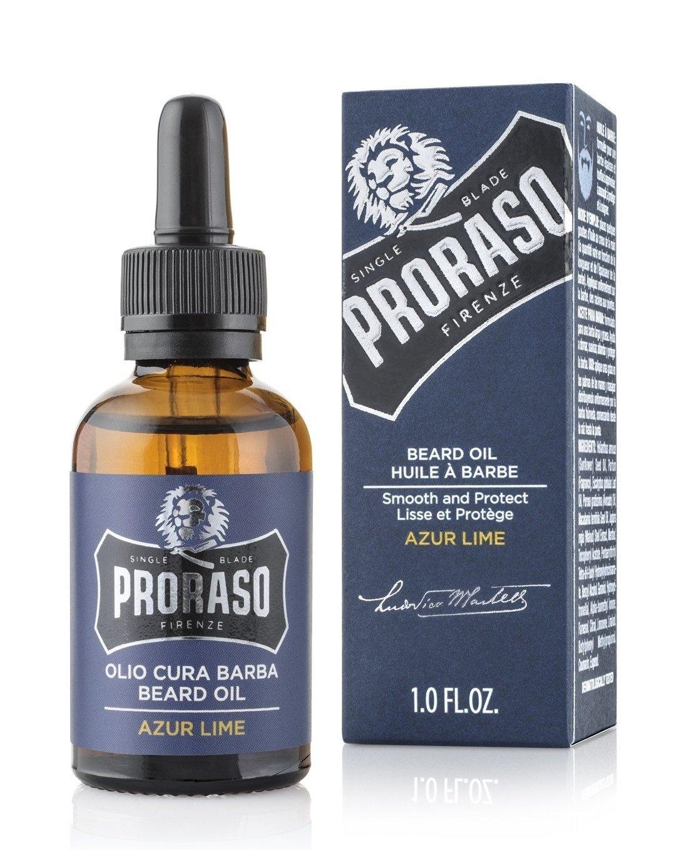 Proraso Azure Lime - Масло для бороды 30 мл