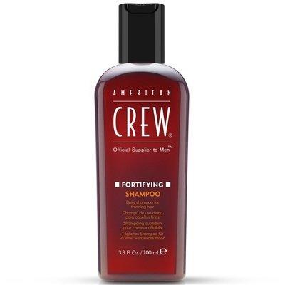 American Crew Fortifying Shampoo - Шампунь для ежедневного ухода за тонкими волосами 100 мл